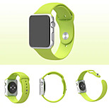 New Environmentally Friendly Silicone Material Strap  for  iWatch 38 mm