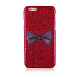 Bowknot Pattern Glitter Hard Back Cover Case for iPhone6 Plus/6S Plus