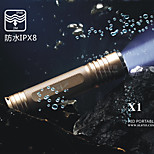 LED Flashlights 5 Mode 800 Lumens Waterproof Rechargeable Nonslip grip Self-Defense Super Light Emergency