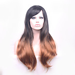 68cm Long Wave Ombre Color Ladies Synthetic Hair Wig