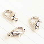 (30PC/BAG)Silver Lobster Clasps Hook DIY Jewelry Accessories Findings (30PC/BAG)