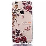 Safflower TPU+Acrylic Anti-Scratch Backplane Combo Phone Case for iPhone 6/6S