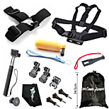 Hot Outdoor Sports Camera Accessories Kit,14-In-1 For GoPro Hero 1/ 2/ 3/ 3+/ 4/ 4 Session