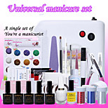 1Set French A Star A Manicure Set Phototherapy Glue Glitter Nail Nails Nursing Soak A Universal System