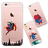 MAYCARI®Cute Heros Soft Transparent TPU Back Case for iPhone5/iPhone5s(Assorted Colors)