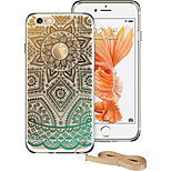 ESR® Totem Series Shock Absorbent TPU Corner Protection + Hard PC Back Protective Case for iPhone 6/6s -Gold Henna