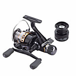 Metal Spinning Reel J3FR50 Gear Ratio 5.5:1 Fishing Reel  9+1 BB Carp Fishing Reel Bait Runner Wheel Spare Spool