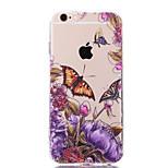 cas papillon de fleurs rétro pour iPhone 5 / 5s (couleurs assorties)