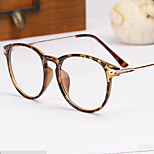 [Free Lenses]   Acetate/Plastic / Metal Oval Full-Rim Classic / Retro/Vintage / Fashion Prescription Eyeglasses