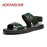 Aokang Men's Leatherette Sandals