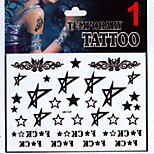 - Tattoo Aufkleber - Non Toxic / Muster / Glitzer / Unterer Rückenbereich / Waterproof / Weihnachten - Andere - fürBaby / Kind / Damen /