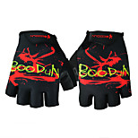 Men Women Half Finger Sports Gloves Fitness Non-Slip Black Mittens