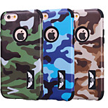 Special Design Novelty Wood Grain Silicone PC Back Case Camouflage Color for iPhone 5C (Assorted Colors)