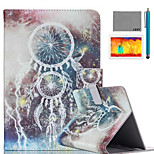 LEXY® Star Campanula Pattern PU Leather Flip Stand Case with Screen Protector and Stylus for iPad Air/iPad 5