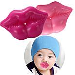 ducha de silicona labio 3d bebé chupete beso sexy chupetes infantiles bebé (color al azar)