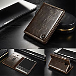 CaseMe Luxury Genuine Leather Wallet Card Slot Cover Flip Case With Stand For Blackberry Passport 2  (Assorted Colors)