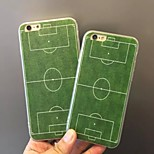 Football Field  Pattern Ultra Thin Soft TPU Back Cover Case for iPhone6/6S