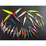 30Pcs High Grade Minnow / Crank / Popper / Vibration/VIB / Lure Sets For Freshwater Fishing