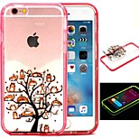 2-in-1 More Than A Cat Tree Pattern TPU Back Cover with PC Bumper Shockproof Soft Case for iPhone 6/6S