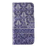 The New Blue Decorative Motifs PU Leather Material Flip Card Cell Phone Case for iPhone 6 /6S
