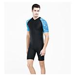 Jellyfish Sun Protection Short Sleeve Nylon Swimsuit Nylon Scuba Suit