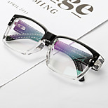 [Free Lenses]  Acetate/Plastic / Metal Square Full-Rim Classic / Retro/Vintage / Fashion Prescription Eyeglasses