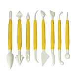 Sugar Flower Other Tool Carving Knife Baking Tool 8 PCS