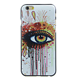 Colored Eyes Pattern  Hard Case for iPhone 6/6S