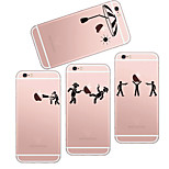 MAYCARI®Playing Games Soft Transparent TPU Back Case for iPhone5/iPhone5s(Assorted Colors)