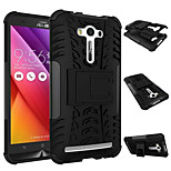 Antiskid Cover Rugged Rubber Armor Quality PC+TPU Hybrid Kickstand Case For Asus Zenfone 2 Laser ZE551KL 5.5''