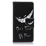 Tooth Painted PU Phone Case for Sony Xperia Z5