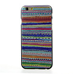 Color fringes Pattern  Hard Case for iPhone 6/6S