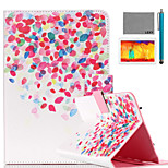 LEXY® Painted Little Pattern PU Leather Flip Stand Case with Screen Protector and Stylus for iPad Air/iPad 5