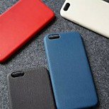 High Class PU Leather Fashion Jeans Grain Back Cover Case for iPhone 6/6S(Assorted Colors)