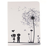 Dandelion Lover Pattern TPU Smart Model with Auto Sleep/Wake Function Case Cover for iPad Pro 12.9