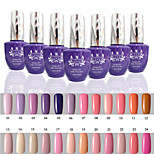 1 PCS ANA 192 Colors Gelpolish Nail Art Soak Off UV Nail Gel Polish 15ml 1-24
