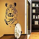 Wall Stickers Wall Decals, Tiger PVC Wall Stickers
