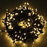 re ro solare modalità 72.17ft 200led 8 decorazioni di Natale lampeggiante luce della stringa impermeabile esterno