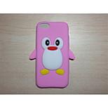 mignon de bande dessinée coque silicone fixe mobile shell de protection de téléphone pour iPod touch 6 (de couleurs assorties)