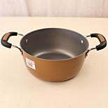 oreilles épaississants marmite cuisine à domicile pot de 22,5 cm coréen pot de pot chaud de poêle à frire