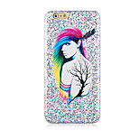 Fantasy Woman Pattern Glitter Hard Back Cover Case for iPhone6/6S