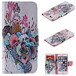 disegno speciale caso folio novità cuoio dell'unità di elaborazione del modello o fondina colorato per il iphone 5 / 5s