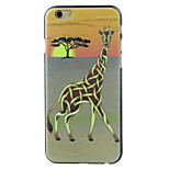 The giraffe and the tree High Quality and Good Price Pattern  Hard Case for iPhone 6/6S