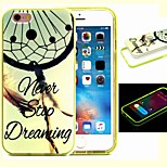 2-in-1 Never Stop Dreaming Pattern TPU Back Cover with PC Bumper Shockproof Soft Case for iPhone 6/6S