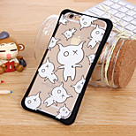 Black and White Adorable Calf Waistline Combo Shell for iPhone6/iPhone 6s(Assorted Colors)