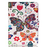 Butterfly  Pattern PU Leather Full Body Case with Stand for iPad Mini 3/2/1