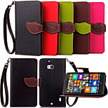 KARZEA™ Leaf Snap PU Full Body Case with TPU Back Cover Stand for Microsoft Lumia 930(Assorted Colors)