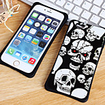 The New Skull Series Waistline Combo Back Cover for iPhone 6 Plus/iPhone 6S Plus(Assorted Colors)