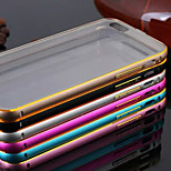 The New Luxury  Plating Metal Frame Transparent Stealth Backplane Phone Case for iPhone 5/5S (Assorted Colors)