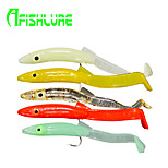 Afishlure Soft Bait Artificial Soft Eels with Hooks 1.3g / 1/18oz. / 1/10 oz. Ounce , 65 mm / 2-5/8